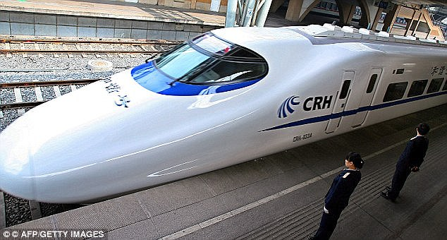 Crh Train Schedule - Chinese Bullet Train Will Be Ready By 2020
