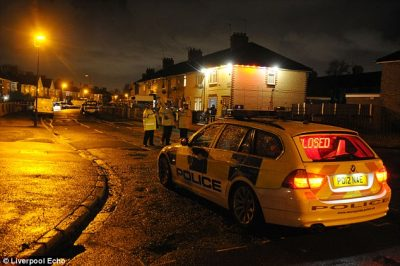 Liverpool police officer injured after van mows him down ...