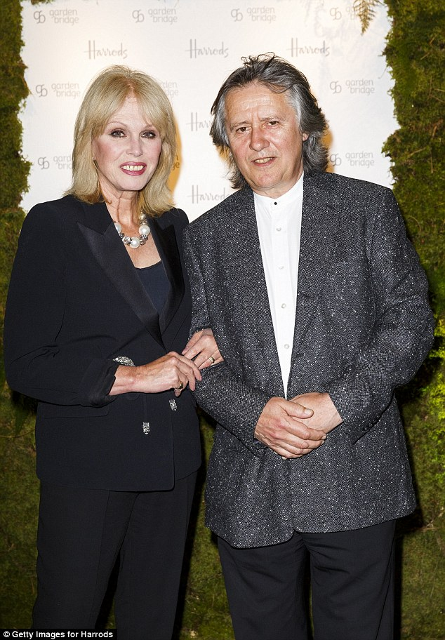 Joanna Lumley on mucking in down on the farm | Daily Mail ...