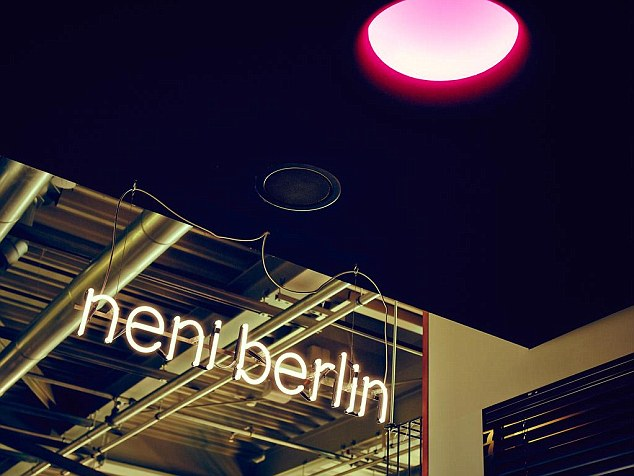 9 cool  quirky and unusual restaurants in Berlin   Daily Mail Online Guests of 25 Hours Hotel Bikini Berlin can enjoy oriental and Mediterranean  fusion cuisine served at