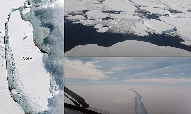 What Is The A 68 Iceberg And What Caused It To Break Away