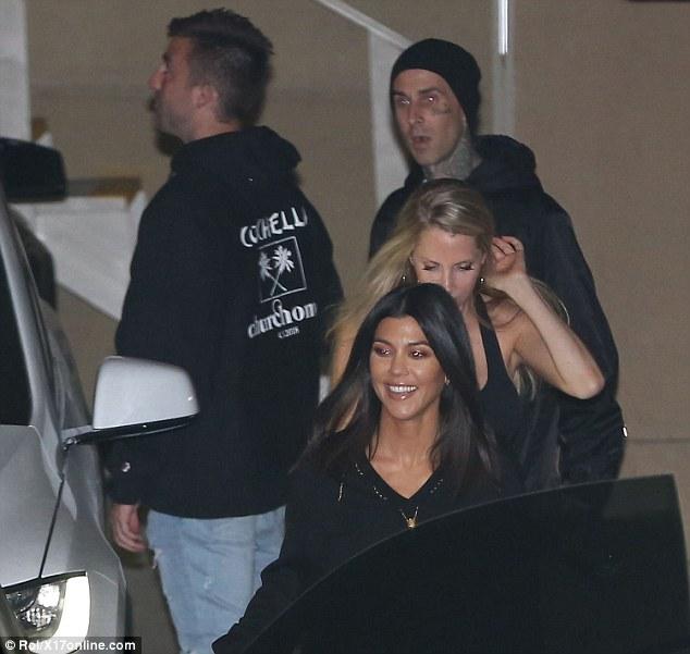Kourtney Kardashian heads to Hillsong church service with ...
