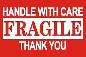 Fragile Shipping Labels | eBay
