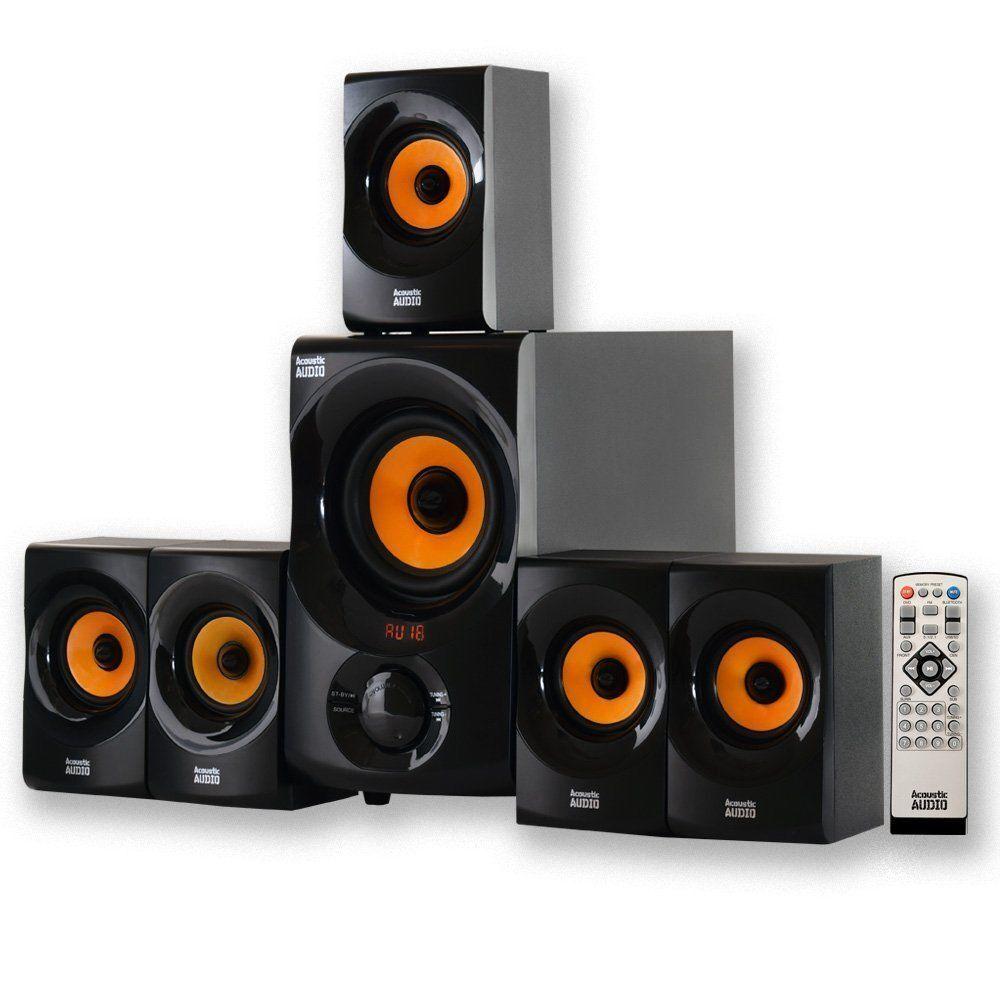 Best Kitchen Gallery: Acoustic Audio Aa5170 Home Theater 700 Watt 5 1 Bluetooth Speaker of Home Theater Audio on rachelxblog.com