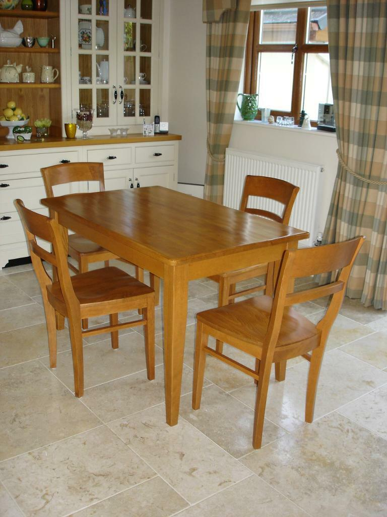 Solid Wood Table And Chairs Sale