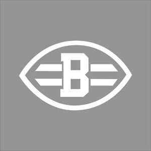 Cleveland Browns NFL Team Logo 1 Color Vinyl Decal Sticker ...