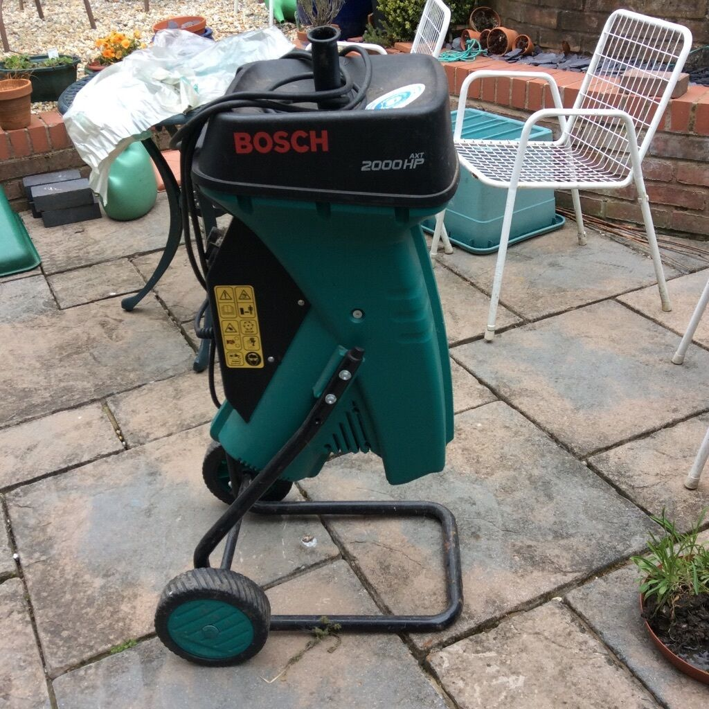 Bosch Wood Chipper