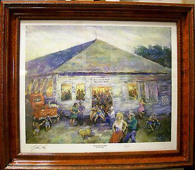 Placedo Hall Painting 1958 Era Gordon Fowler 230/1000 ...