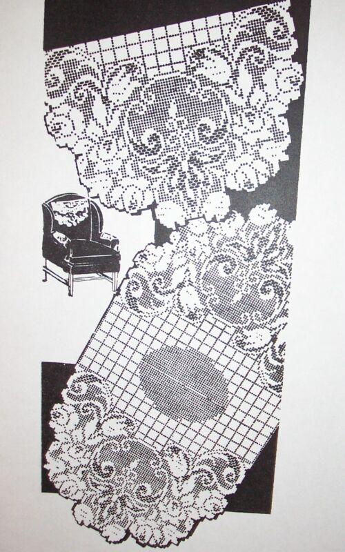 Vintage Crochet Doily Pattern Books