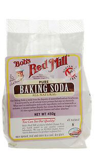 Bob's Red Mill Pure Baking Soda 450g *Gluten Free, All ...