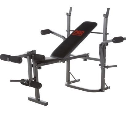 Pro Power Bench Press Incl Bar Plus Weights In Cuffley