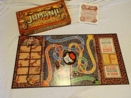 Jumanji Board Game   eBay