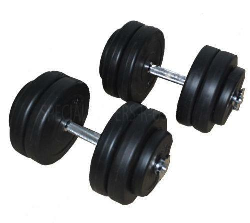 50kg Dumbells Weights Amp Dumbbells Ebay