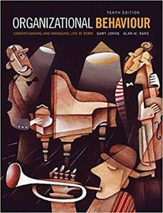 Organizational Behaviour John Saks   Kijiji in Toronto  GTA     Buy     10th Edition  Organizational Behaviour   MyManagementLab