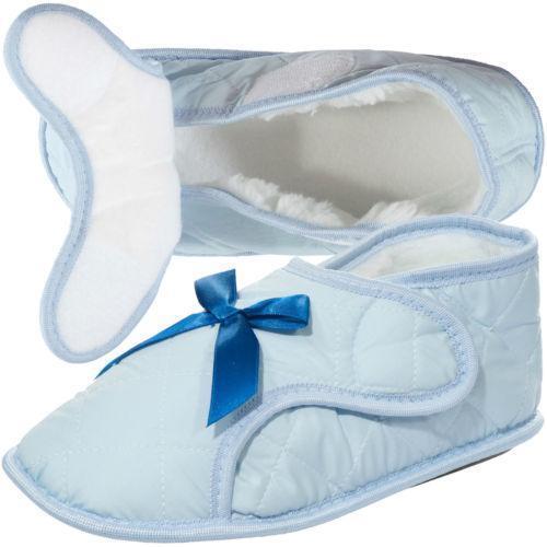 Womens Velcro Slippers | eBay