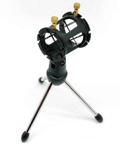 Mount Cell Microphone Phone Tripod