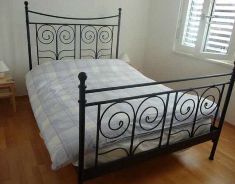 Black Metal Bed Frame Ikea 14494