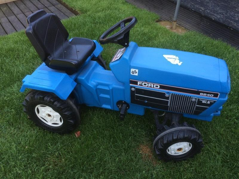 Ford Power Tractor Ride