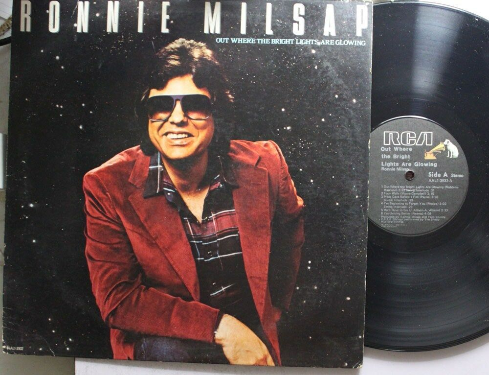 Ronnie Milsap Out Where Bright Lights Are Glowing