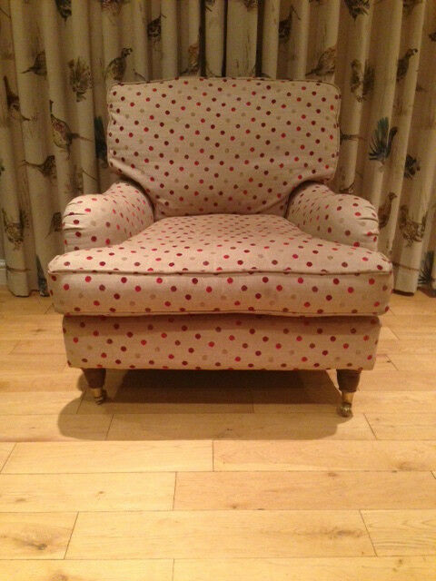 Upholstered Armchairs Living Room