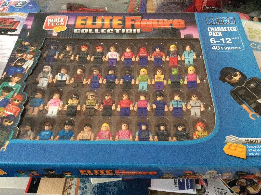 Elite Figure Toy Collection Block Tech In Gosport