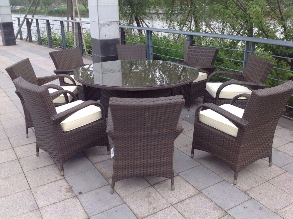 Outdoor Furniture 8 Seater
