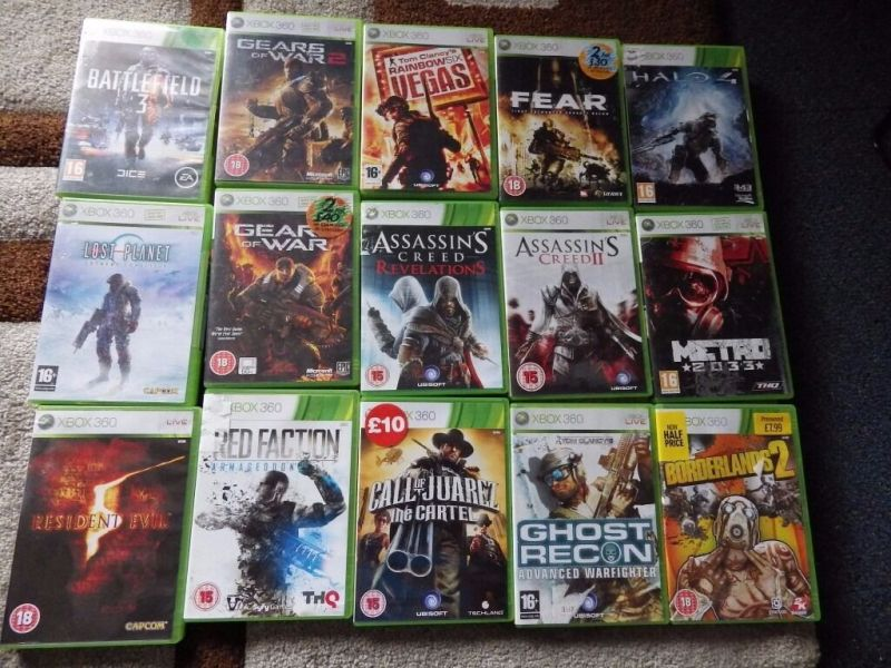 classic xbox 360 games     3 each sold seperate   in Bedminster     classic xbox 360 games     3 each sold seperate