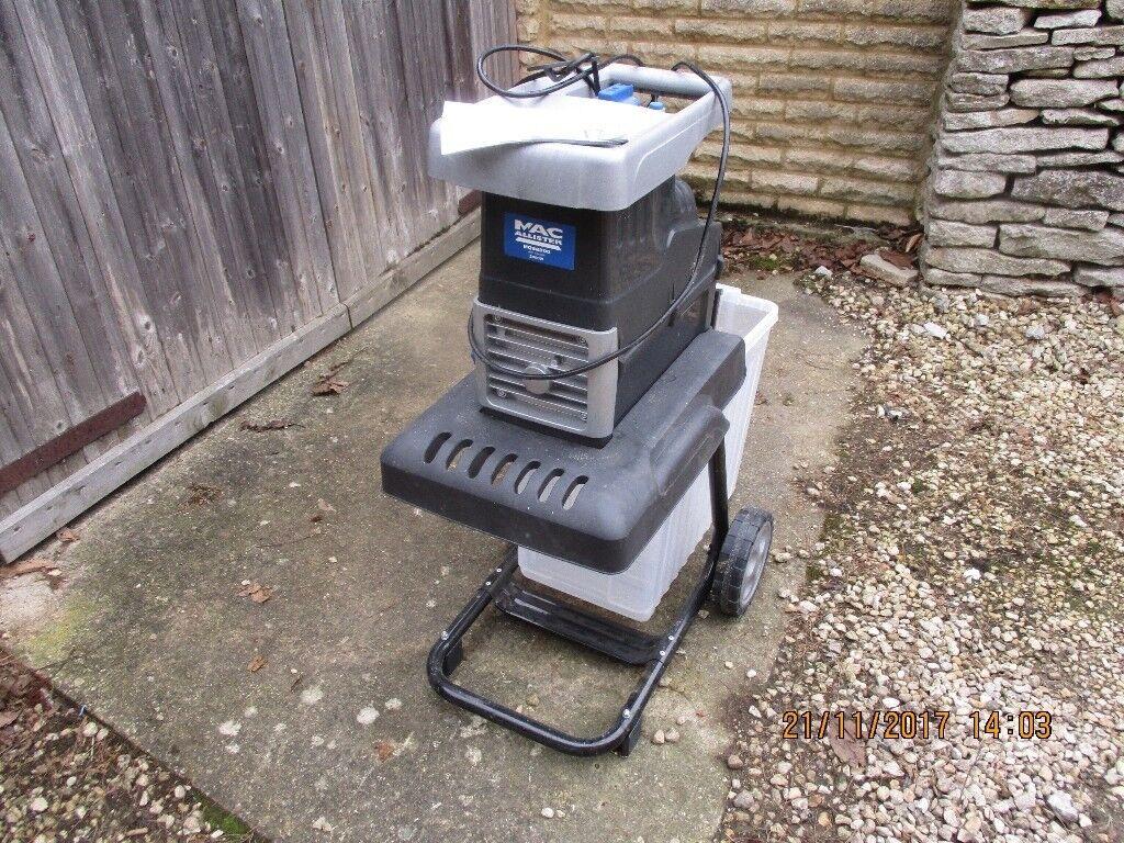 Bosch Chipper Shredder