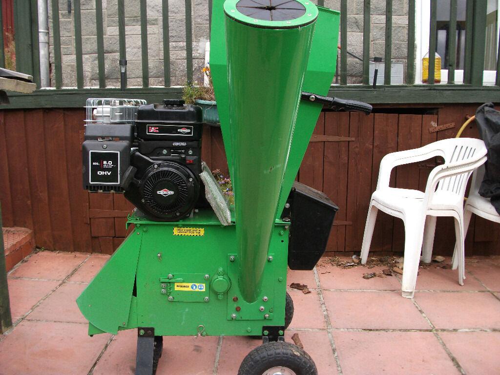 Used Mulcher Chipper Shredder