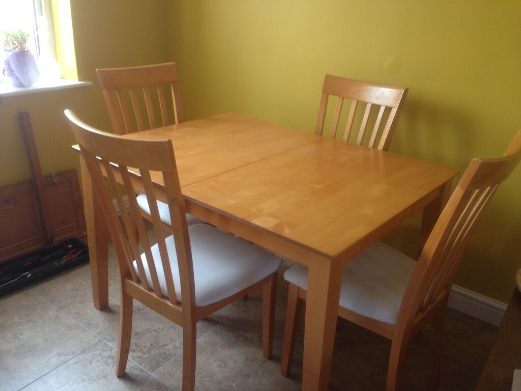 Dining Table Chairs Gumtree