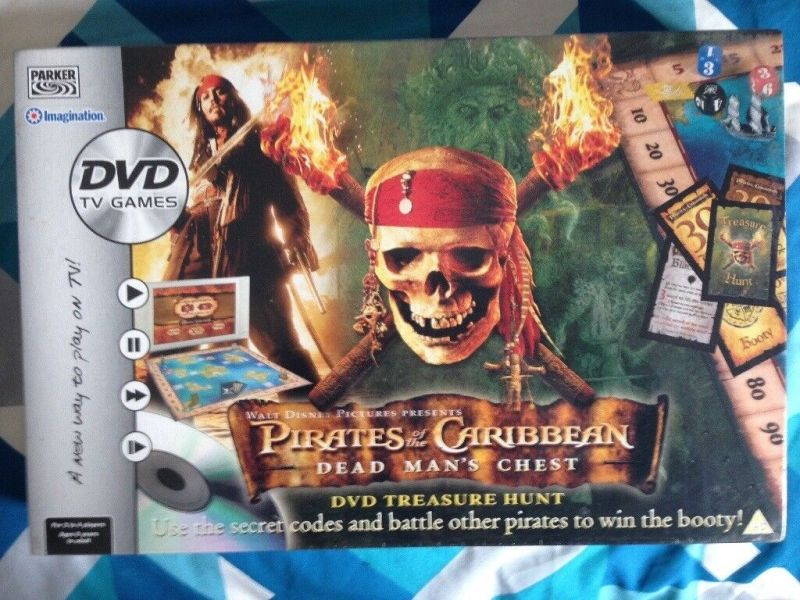 Pirates of the Caribbean DVD Board Game new   sealed   in Eastleigh     Pirates of the Caribbean DVD Board Game new   sealed