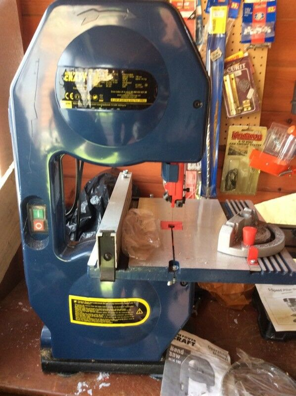 Aldi Powercraft Bandsaw Crafting