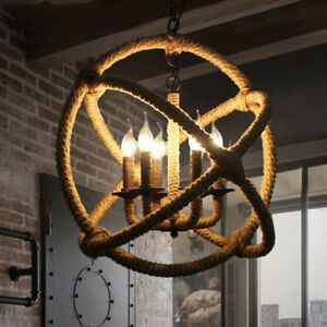 pendant lighting with rope # 62