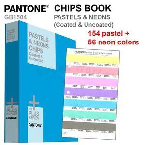 Pantone Color Plus Series GB1504 PASTELS & NEONS CHIPS ...