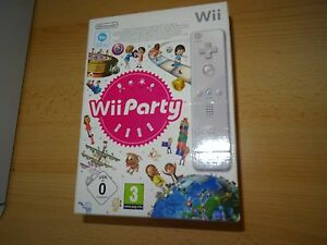 Nintendo Wii Game   Wii Party  Box Set with Wii Remote  PAL     Image is loading Nintendo Wii Game Wii Party Box Set with