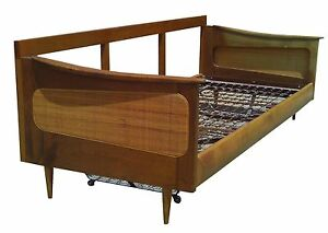 Mid Century Modern Trundle Bed Daybed Sofa Eames Peter