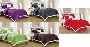 9 Pc Pleated Microfiber Comforter Set Full Queen King