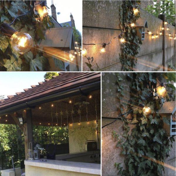 outdoor pendant string lights # 48