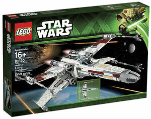LEGO Star Wars Red Five X wing Starfighter  10240    eBay LEGO Star Wars Red Five X wing Starfighter  10240