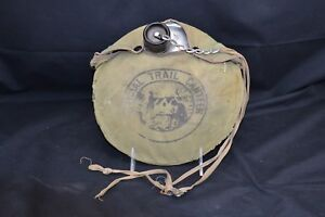 Official Trail Canteen Boy Scout Cloth Cover Some Wear Ebay