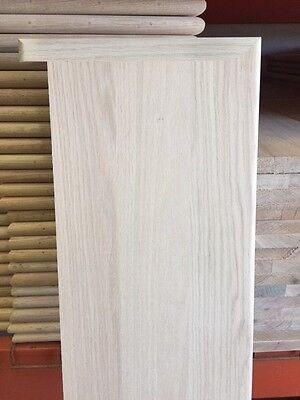 Solid Red Oak Wood Stair Treads 1 Thick X 11 1 2 Width 36 42 | Solid Maple Stair Treads | Soft Maple | Stair Parts | Risers | Red Oak Stair | Hardwood Floors