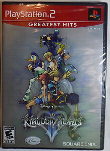 KINGDOM HEARTS II New PlayStation 2 Game PS2 Greatest Hits Disney     Image is loading KINGDOM HEARTS II New PlayStation 2 Game PS2