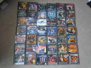 Sony PS1 Playstation games   CHOOSE FROM THE LIST   rare titles     Image is loading Sony PS1 Playstation games CHOOSE FROM THE LIST
