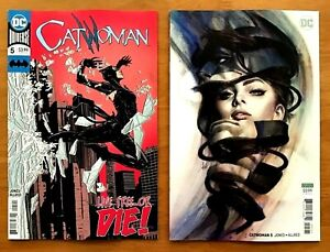 Catwoman 5 2018 Joelle Jones Main Cover + Stanley Artgerm ...