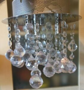 crystal chandelier dunelm # 89