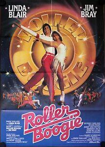 Roller Boogie German movie poster Linda Blair, Jim Bray ...