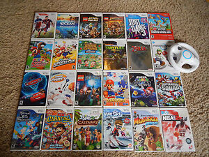 Nintendo Wii Games  You Choose from Large Selection  Many Titles     Image is loading Nintendo Wii Games You Choose from Large Selection