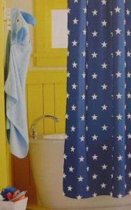 Circo Navy Stars Shower Curtain  253213467430   13 00   Cosysdaily top Circo Navy Stars Shower Curtain