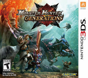Monster Hunter Generations Nintendo 3DS Console 30525   eBay Monster Hunter Generations Nintendo 3DS Console 30525