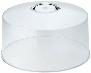 New Cake Stand Plate Cover 12in Round Acrylic Lid Pastry ...